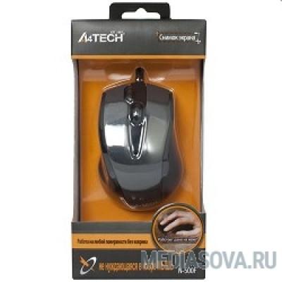 A4Tech N-500F V-TRACK (серый глянец/черный) USB, 3+1 кл.-кн.,провод.мышь [641866]