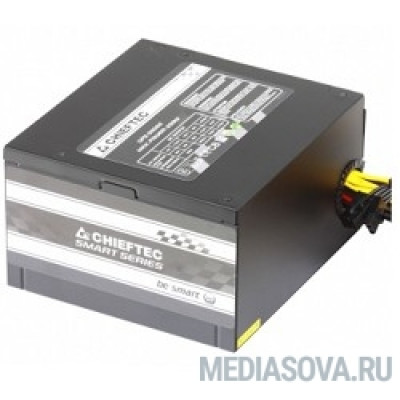 Блок питания Chieftec 550W RTL [GPS-550A8] ATX-12V V.2.3 PSU with 12 cm fan, Active PFC, fficiency >80% with power cord 230V only