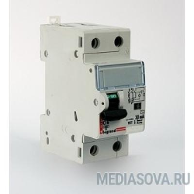 Legrand 411000 Автоматический выключатель дифференциального тока Legrand DX3 10A Тип AC 30mA