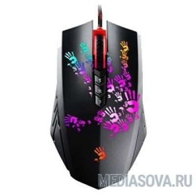 A4Tech Bloody Blazing A6 Black USB, Laser (4000dpi) Gaming (8but) [933095]