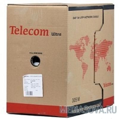 Telecom Кабель Ultra FTP кат. 5е 4 пары (305м) (0.48mm) CCA серый [TFS44050E]