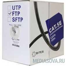 5bites FS5505-100A Кабель  FTP / SOLID / 5E / 24AWG / CCA/ PVC / 100M