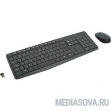 920-007948 Logitech Wireless Keyboard and Mouse MK235 GREY USB