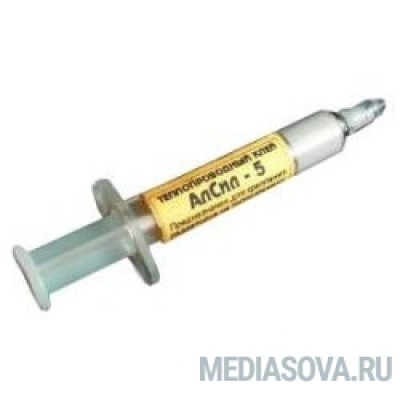 Термоклей АлСил-5, 3 гр, шприц (TERMO5)