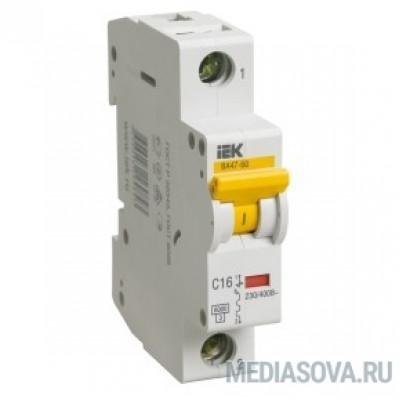 Iek MVA41-1-006-D Авт.выкл. ВА 47-60 1Р 6А 6 кА  х-ка D ИЭК