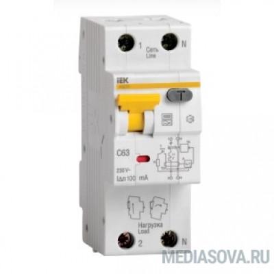 Iek MAD22-5-016-C-30 АВДТ 32 C16 - Автоматический Выключатель Дифф. тока