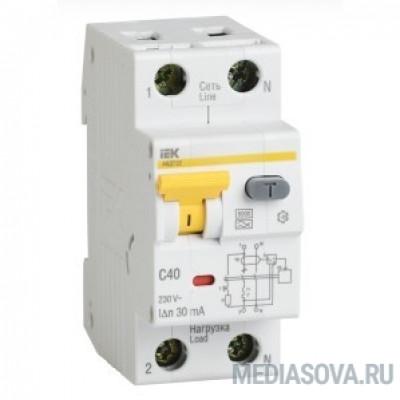 Iek MAD22-5-040-C-100 АВДТ 32 C40 100мА  - Автоматический Выключатель Дифф. тока
