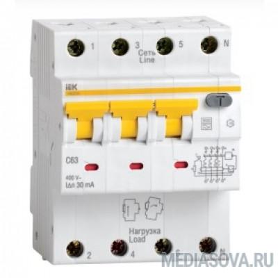 Iek MAD22-6-010-C-30 АВДТ 34 C10 30мА - Автоматический Выключатель Дифф. тока