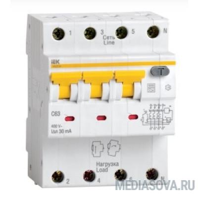 Iek MAD22-6-032-C-30 АВДТ 34 C32 30мА - Автоматический Выключатель Дифф. тока