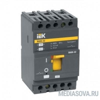 Iek SVA10-3-0025-R Авт. выкл. ВА88-32 3Р 25А 25кА IEK