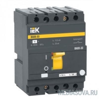 Iek SVA20-3-0125-R Авт. выкл. ВА88-33 3Р 125А 35кА IEK