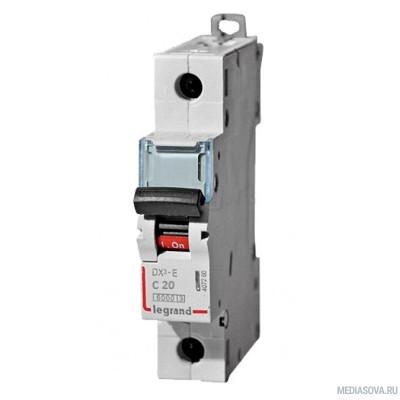 Legrand 407266 Автоматический выключатель DX3-E 6000 - 6 кА - тип характеристики C - 1П - 230/400 В~ - 32 А - 1 модуль