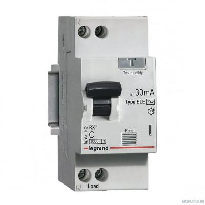 Legrand 419397 RX3 АВДТ 30мА 10А 1П+Н AC