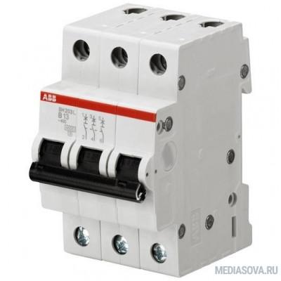 ABB 2CDS243001R0634 Автомат.выкл-ль 3-полюсной SH203L C63
