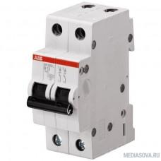 ABB 2CDS242001R0104 Автоматич.выкл-ль 2-пол. SH202L C10
