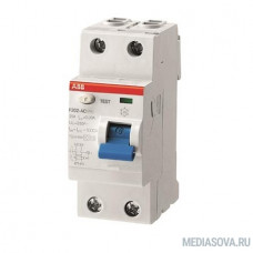 ABB 2CSF202001R0160 Выкл.диф.тока 2мод. F202 AC-16/0,01