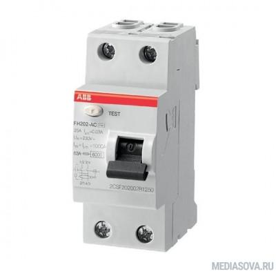 ABB 2CSF202004R1400  Выкл.диф.тока 2мод. FH202 AC-40/0,03