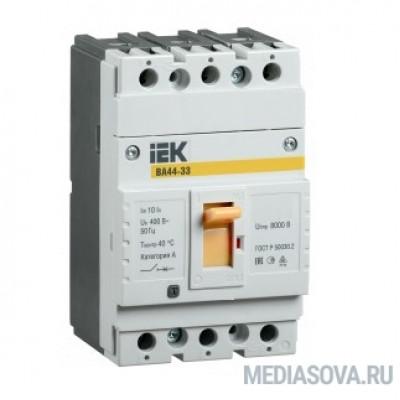Iek SVA4410-3-0040 Авт. выкл. ВА44 33 3Р 40А 15кА