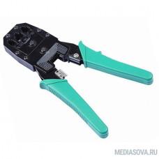 Exegate EX271112RUS Инструмент HT- 2007 Exegate  для обжима  RJ-45, RJ-11/12, с  инструментом. для зачистки в комплекте