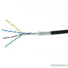 Cablexpert Кабель SFTP5e, 4 пары, 0.51 мм, медь, однож., экран, оплётка, 305 м, outdoor, Fluke Test [SPC-5051E-SO-OUT]