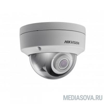 HIKVISION DS-2CD2143G0-IS (2.8mm) 4MP DOME Type Fixed/HDTV/Megapixel/Outdoor, Разрешение 4 Мпикс, Фокусное расстояние 2.8мм, Инфракрасная подсветка, Матрица 1/3