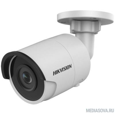 HIKVISION DS-2CD2043G0-I (4mm) Видеокамера IP Hikvision 4-4мм цветная корп.:белый