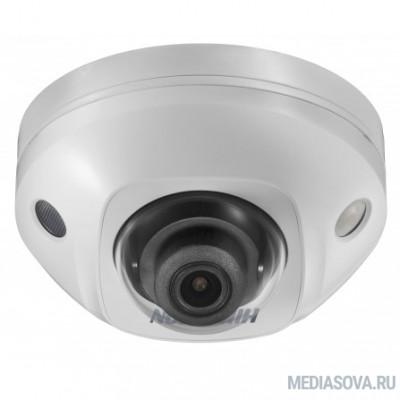HIKVISION DS-2CD2523G0-IWS (2.8mm) Видеокамера IP 2.8-2.8мм цветная корп.:белый