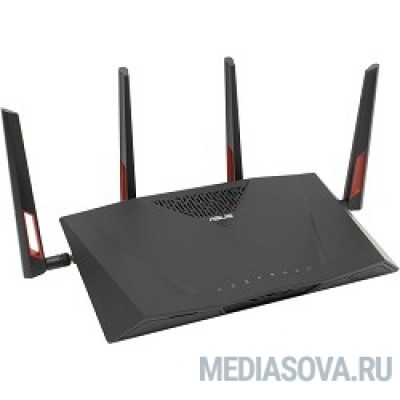 ASUS RT-AC88U AC3100 Dual-band Gigabit Router (RTL) (8UTP 10 / 100 / 1000Mbps, 1WAN, 802.11a / b / g / n / ac, USB2.0 / 3.0)