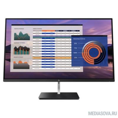LCD HP 27'' S270n черный IPS 3840x2160 16:9 178°/178°, 350 cd/m2, DisplayPort 1.2, HDMI 2.0, HDMI 1.4 [2PD37AA#ABB]