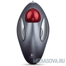 910-000808 Logitech Trackman Marble Silver USB