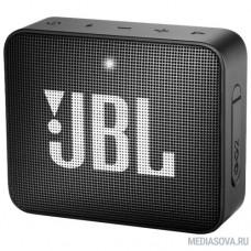 JBL GO 2 черный 3W 1.0 BT/3.5Jack 730mAh (JBLGO2BLK)