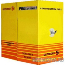 Proconnect (01-0148-3) Кабель FTP CAT5e 4 пары (305м) 0.4 мм CCA