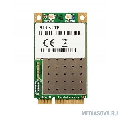 MikroTik R11e-LTE Радиокарта miniPCIe LTE