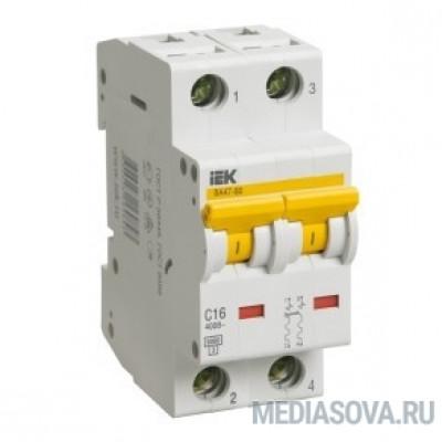 Iek MVA41-2-010-B Авт.выкл. ВА 47-60 2Р 10А 6 кА  х-ка B IEK