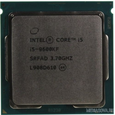 Процессор CPU Intel Core i5-9600KF BOX 3.70Ггц, 9МБ, Socket 1151 without graphics