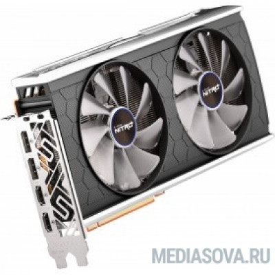 Видеокарта Видеокарта Sapphire PCI-E 4.0 11295-05-20G NITRO+ RX 5500XT 8G SE AMD Radeon RX 5500XT 8192Mb 128bit GDDR6 1737/14400/HDMIx2/DPx2/HDCP Ret