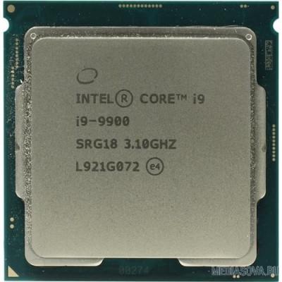 Процессор CPU Intel Core i9-9900 BOX 3.10Ггц, 16МБ, Socket 1151v2