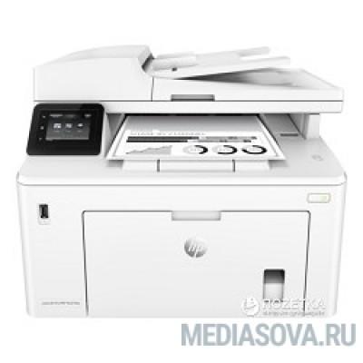 HP LaserJet Pro M227fdw <G3Q75A> принтер/сканер/копир/факс, A4, 28 стр/мин, ADF, дуплекс, USB, LAN, WiFi (замена CF485A M225dw)
