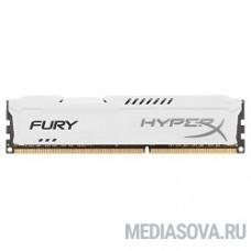 Kingston DDR3 DIMM 4GB (PC3-12800) 1600MHz HX316C10FW/4 HyperX Fury White Series CL10