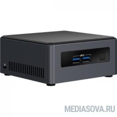 Intel NUC BLKNUC7i3DNH2E, i3 7100U, 2xDDR4, 4xUSB3.0, 1x2.5HDD, 2x m.2 SSD+Wifi, GBL, WiFi+BT, noCR, Black,VESA, powercord EU, IR-port, Kensington Lock