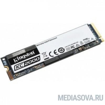 Kingston SSD 500GB M.2 SKC2000M8/500G
