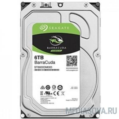Жесткий диск 6TB Seagate BarraCuda (ST6000DM003) Serial ATA III, 5400 rpm, 256mb buffer