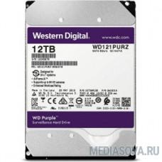 12TB WD Purple (WD121PURZ) Serial ATA III, 5400- rpm, 256Mb, 3.5