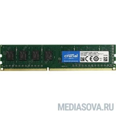Оперативная память Crucial DDR3 DIMM 4GB (PC3-12800) 1600MHz CT51264BD160B