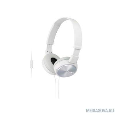SONY MDR-ZX310APW накладные, цвет белый