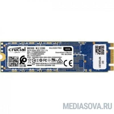Crucial SSD M.2 MX500 500GB CT500MX500SSD4