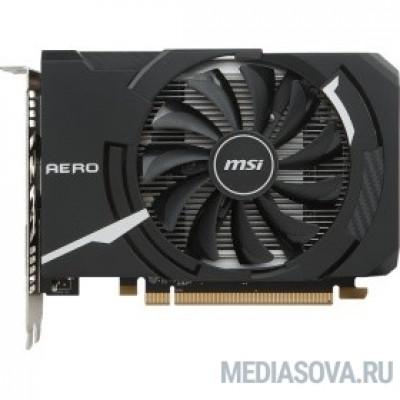 Видеокарта Видеокарта MSI PCI-E Radeon RX 550 AERO ITX 4G OC AMD Radeon RX 550 4096Mb 128bit GDDR5 1203/6000 DVIx1/HDMIx1/DPx1/HDCP Ret