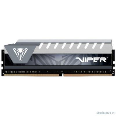 Оперативная память  Память DDR4 8Gb 2666MHz Patriot PVE48G266C6GY RTL PC4-21300 CL16 DIMM 288-pin 1.2В