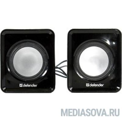 Defender SPK 22 черный, 5 Вт, питание от USB [65503]