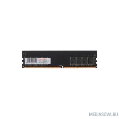 Оперативная память  QUMO DDR4 DIMM 16GB QUM4U-16G2666P19 PC4-21300, 2666MHz